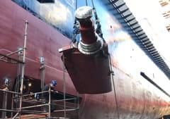 Atlantic Propulsion Service entreprise spécialisée propulsion marine hélices propulseur étrave Saint Brévin 44 FRANCE