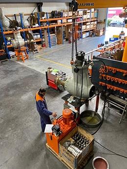 Atlantic Propulsion, Service Spécialiste en propulsion marine, fourniture pièces : hélices, propulseur d'étrave - Atelier à Saint Brévin - leak